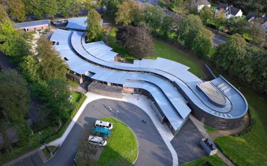 Hazelwood School Glasgow building in Scotland