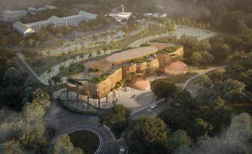 New Academic Complex at La Salle University Laguna design by CAZA