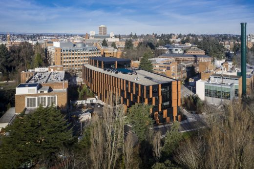 New Bill & Melinda Gates Center for Computer Science & Engineering at University of Washington in Seattle