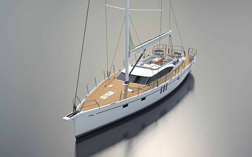 The Oyster 565 60ft Sailboat - A Feat Of Beauty & Efficiency