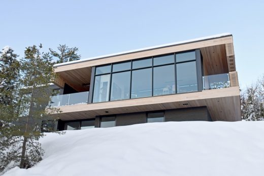 Residence Le Nid on the St Lawrence River Quebec