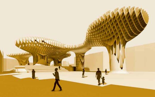 Seville building design by J. MAYER H. Architects
