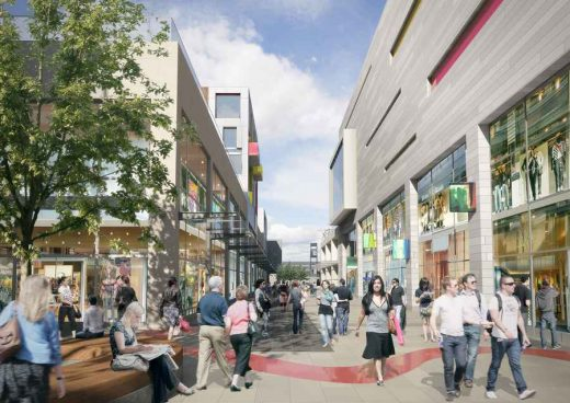 Stevenage Town Centre buildng by BDP Architects