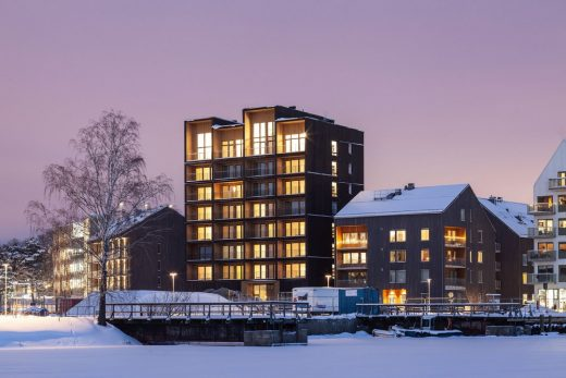 Sweden's Tallest Timber building, high-rise in Västerås