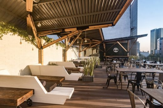 Timberland Terrace in Mexico City