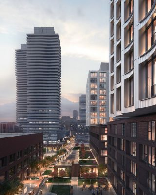 West Don Lands Housing in Toronto