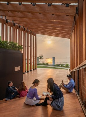 WKCC Arts and Cultural Project design by New Office Works