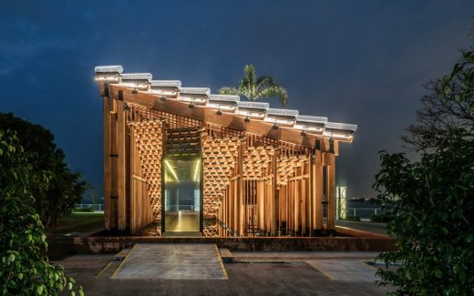West Kowloon Competition Pavilion, designed by New Office Works