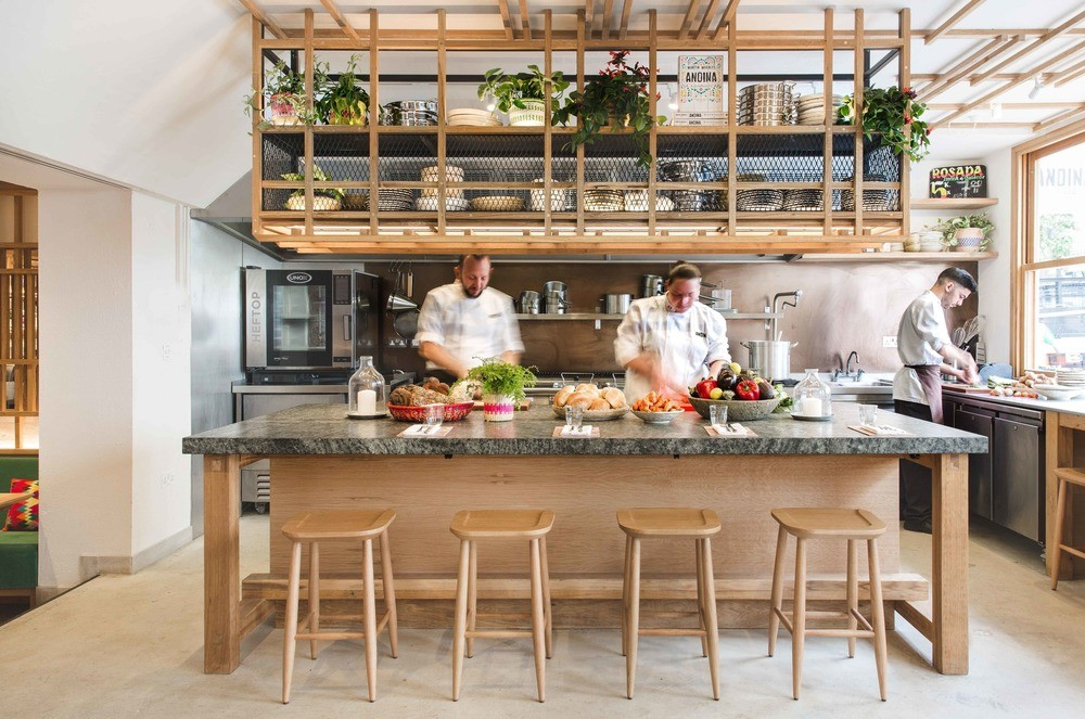 Andina Notting Hill Restaurant And Cafe Bakery In London E Architect