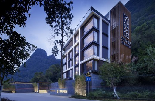 Blossom Dreams Hotel Building in China