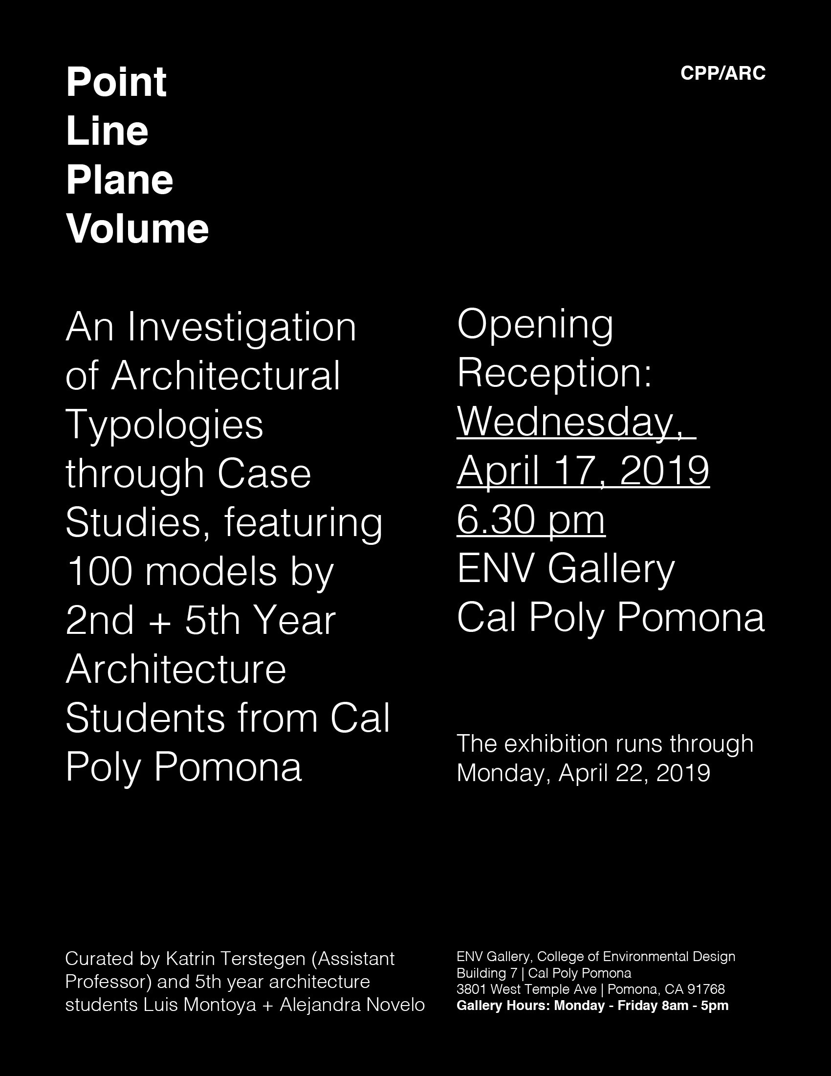 Cal Poly Pomona Events: Lectures + Exhibitions, Los Angeles