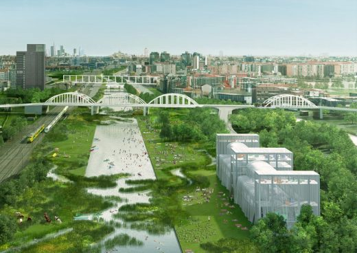 Climatic Agents Masterplan in Milan