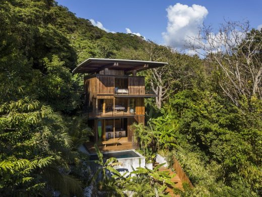 Costa Rica Treehouse in Santa Teresa design by Olson Kundig Architects