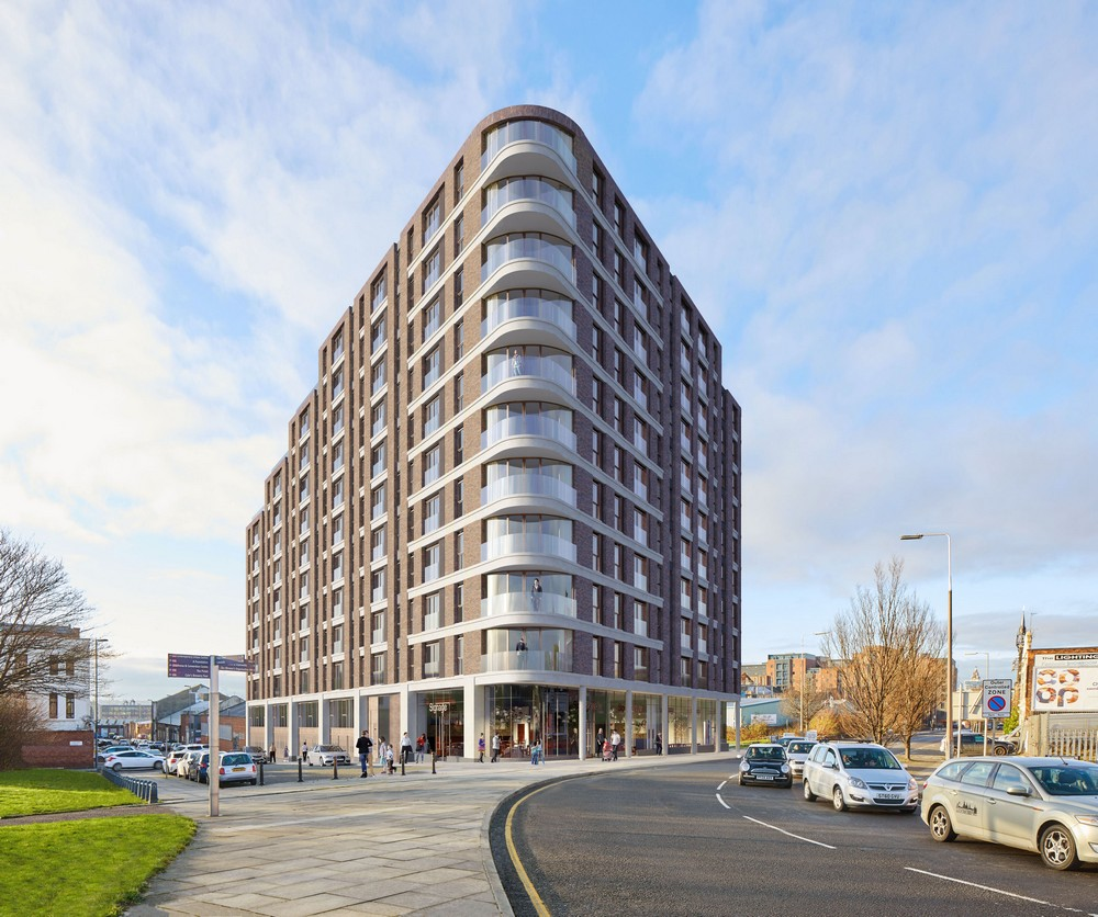 Eclipse liverpool apartments baltic triangle building