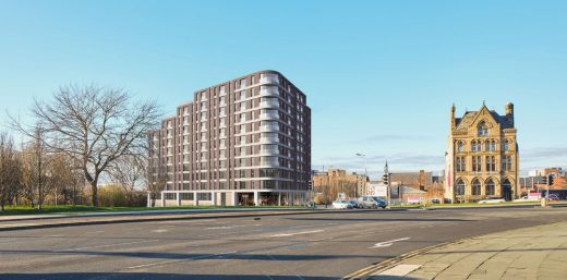 New Residential Building on Merseyside design by Studio RBA Architects