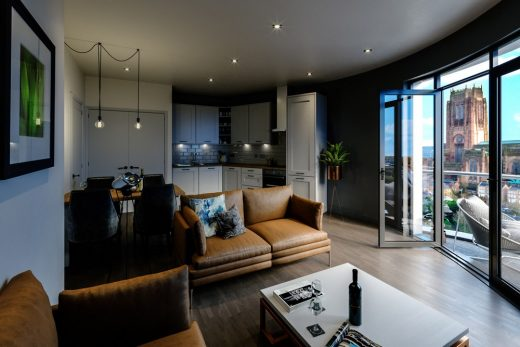 Baltic Triangle flat interior