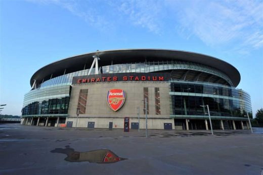Emirates Stadium London Arsenal FC ground