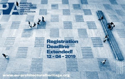 4th edition of European Award for Architectural Heritage Intervention AADIPA