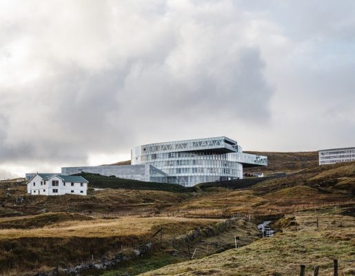 Glasir - Tórshavn College, Faroe Islands by BIG architects