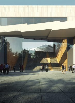 Contemporary Public Building Project in China design by Snøhetta Architects