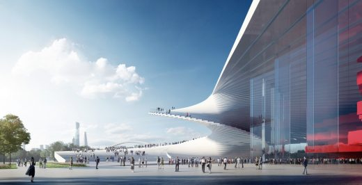 Chinese Opera House Building by Snøhetta Architects
