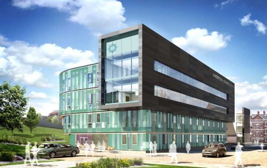 Liverpool Science Park design by Ryder Architecture