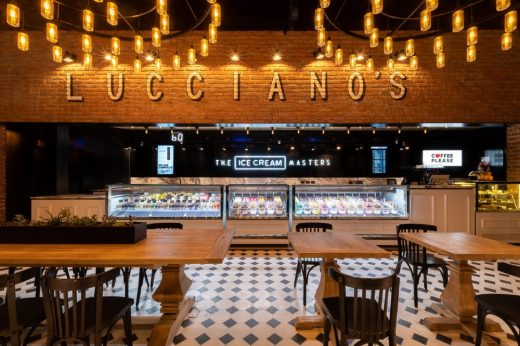 Luccianos Ice Cream Shop in Nordelta Buenos Aires