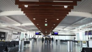 The Pier Manchester Airport Terminal 2 Building interior