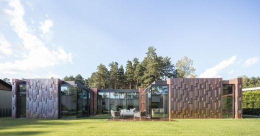 New Home in Lithuania by arches