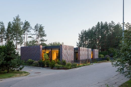 Moving Cubes House in Vilnius