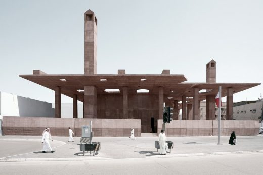 Museu and Entrance to the Pearling Path Bahrain Architecture News
