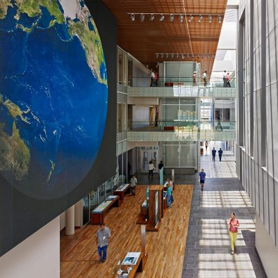 National Oceanic and Atmospheric Administration Building design by HOK & Ferraro Choi and Associates