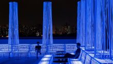 Nyx Rooftop Bar in Central Shanghai