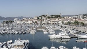 On the Port of Cannes France