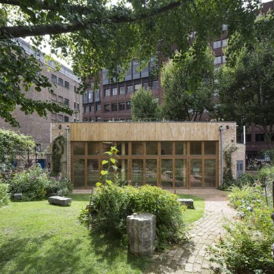 Phoenix Garden Community Building in London