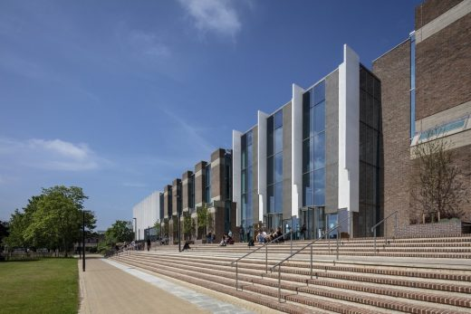 Canterbury library building by Penoyre & Prasad