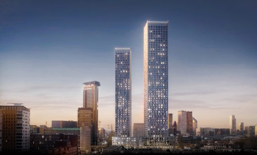 The Grace Towers in The Hague - Dutch Architecture News