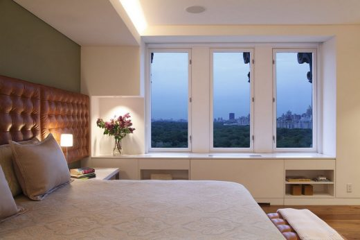 View Over Central Park Apartment in Manhattan