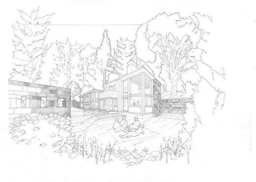 Contemporary Residential Architecture Development in Scotland - design by Alan Dunlop architect