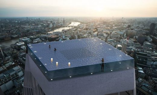360 Degree Infinity London Rooftop Swimming Pool