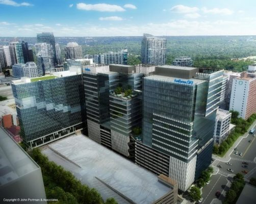 712 West Peachtree Office Tower in Atlanta