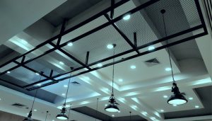 Architectural Light Design with LED downlights