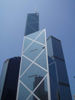 Bank of China Tower, Hong Kong by I.M. Pei & Partners
