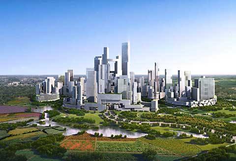 Chengdu Tianfu Great City China design