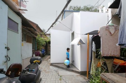 Prefabricated Modular Building Project in Northern China