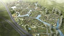 Eco Park Masterplan by RMJM