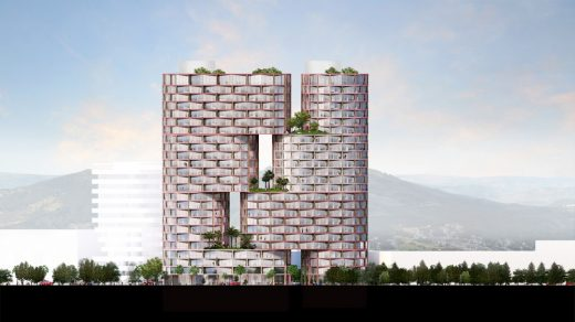 Ecuador Tower Residence by BIG Architects