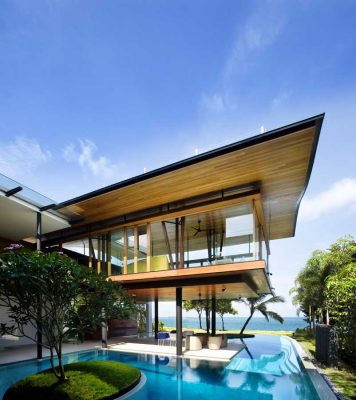 Contemporary luxury Singapore home by Guz Architects