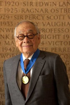 I. M. Pei receives the Royal Gold Medal for architecture