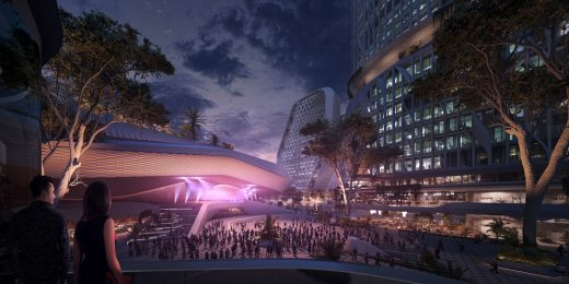 Karle Town Centre Bangalore Masterplan by UNStudio in India